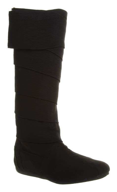 toms wrap boots womens toms one for one black vegan wrap boots ebay