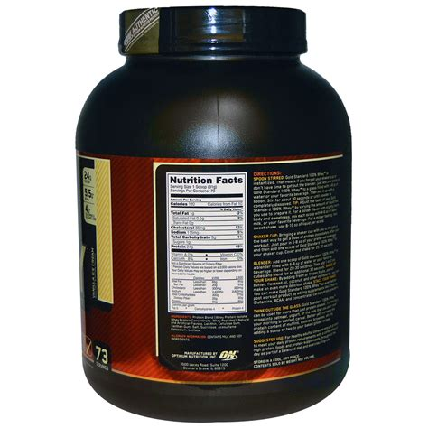 Terbatas Whey Gold Standard 5 Lbs Optimum Nutrition Gf677 optimum nutrition gold standard 100 whey vanilla 5 lb 2 27 kg iherb