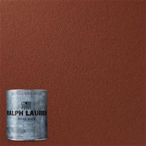 ralph lauren depot ralph 1 qt mesa river rock specialty finish interior paint rr116 04 the home depot