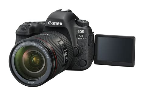 new canon dslr canon releases two new dslrs the eos 6d ii and the