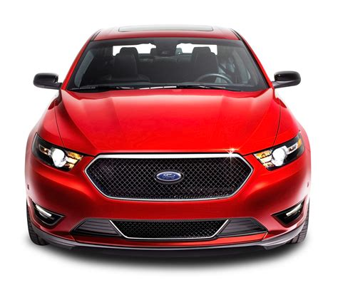 ford car png red ford taurus front car png image pngpix