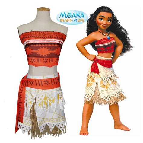 birthday themes for adults dress up aliexpress com buy real anime cosplay princess moana