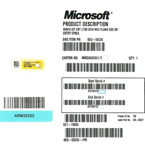 Windows 10 Pro Lisensi Activation Original 100 License 32 64 Bit how to add lisence key by serial number for windows iot enterprise ltsb 2016 esd oei entry epkea