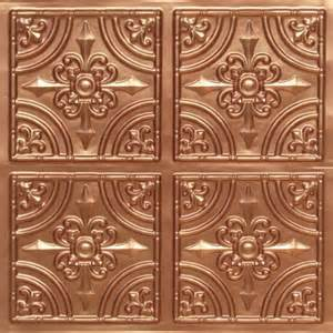 discounted faux copper plastic ceiling tiles