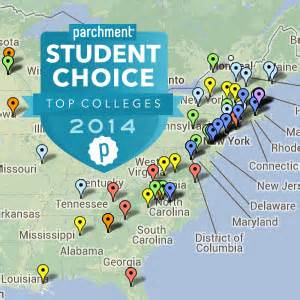 us east coast college map part 3