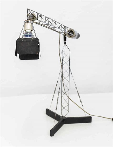 Crane Lighting Fixtures C Jere Vintage Articulating Crane Table L For Sale At