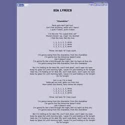 Lyrics To Chandelier By Sia Lyrics To Chandelier Driverlayer Search Engine