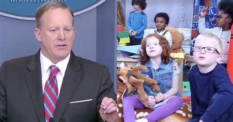 sean spicer last press conference a white house press conference recut with kids proves sean