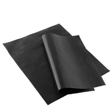 Kertas Lapisan Panggangan Bbq Grill Mat Reusable kertas lapisan panggangan bbq grill mat reusable black jakartanotebook