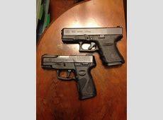 Glock 30S (top) and Taurus PT111 Millennium G2, top two ... Kimber Firearms Catalog