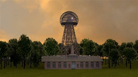Tesla Energy Tower Wardenclyffe Tower Historic Design On Vimeo