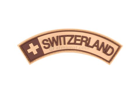Patch Rubber Patch Pomal Huruf 1 switzerland rubber patch desert armamat rubber patches patches equipment armamat