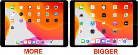 adjust ipad icon size   home screen