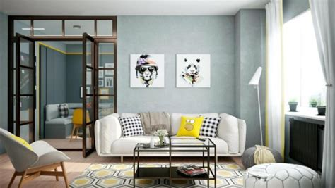 25 modern interior design ideas creating bright accents 25 gorgeous yellow accent living rooms