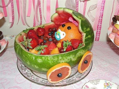 Baby Shower Fruit Watermelon by 25 Best Ideas About Watermelon Baby Carriage On