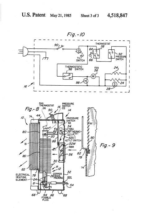 fahrenheat baseboard heater wiring diagram cadet