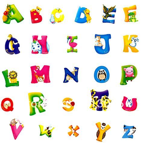 Animal Wall Stickers aliexpress com buy cartoon animal alphabets letters wall