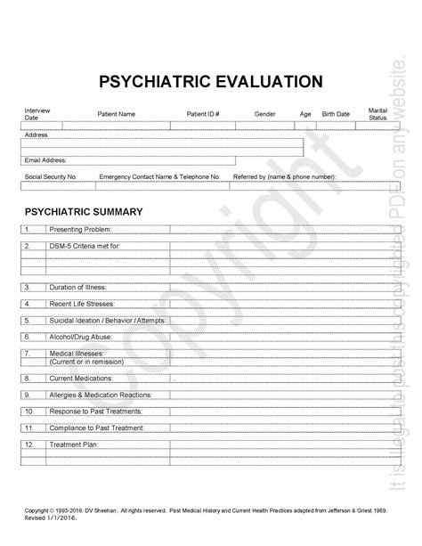 psychiatric template awesome psychiatric progress note template contemporary