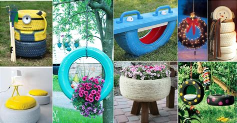 Flower Decorating Tips 15 Diy Amazing Old Tire Reuse Ideas