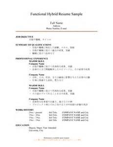 pin hybrid resume sle 1 marketing executive free letter