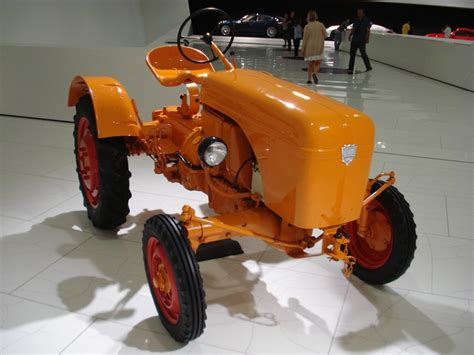 vintage orange porsche 35 best images about porsche tractors on pinterest