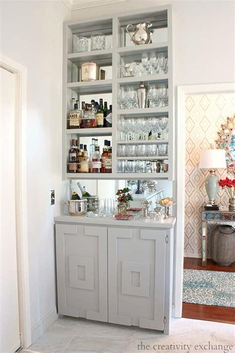 Narrow Home Bar 25 Creative Built In Bars And Bar Carts