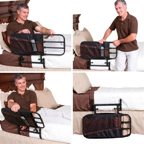 ez adjust bed rail amazon com stander ez adjust pivoting home bed rail 3 pocket organizer pouch