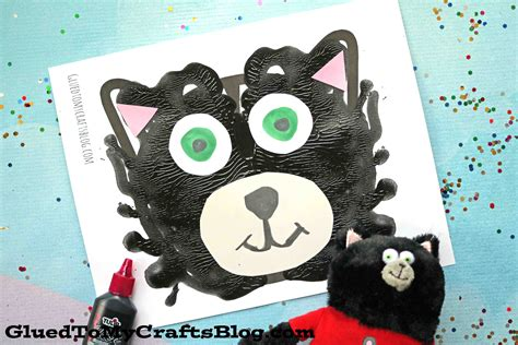 splat the cat template paint splat the cat kid craft glued to my crafts