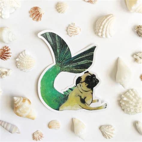 pug mermaid best 25 outdoor stickers ideas on sticker vinyl sticker and stickers