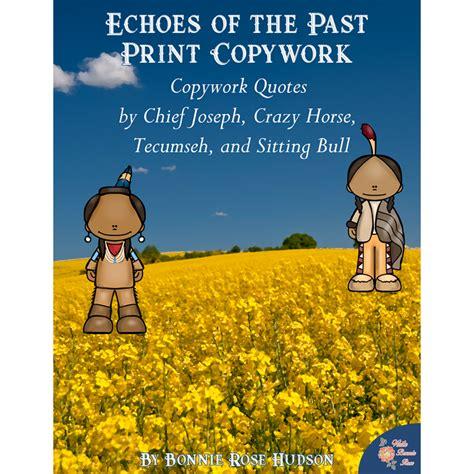 past echoes books products copywork writebonnierose