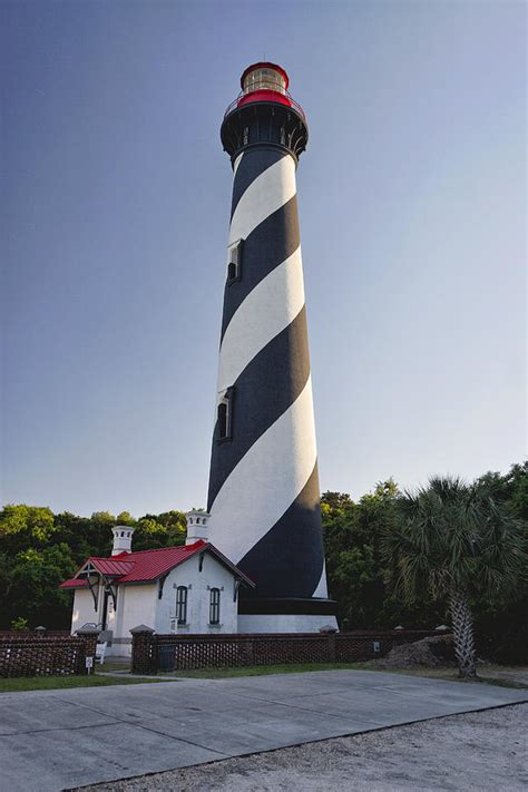Lighthouse House Plans St Augustine Lighthouse Florida Photograph By George Oze