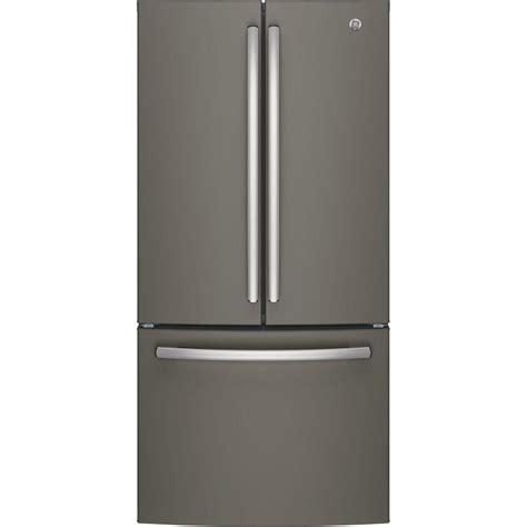 slate door refrigerator ge 33 in w 24 8 cu ft door refrigerator in slate