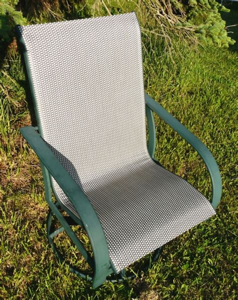 Patio Chair Material Patio Sling Fabric Replacement Fp 019 Plata Phifertex Wicker