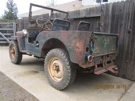 1946 Willys Jeep Specs 1946 Jeep Willys Cj2a For Sale In Elk Grove California