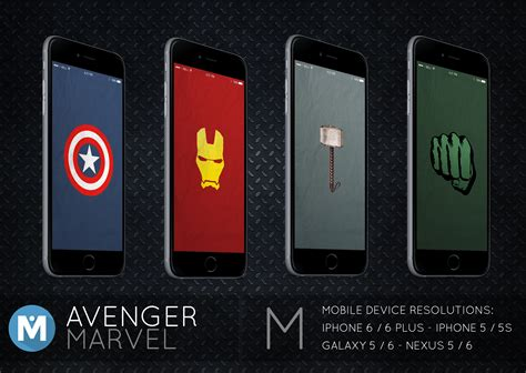 marvell mobile mobile avenger marvel wallpaper pack by polygn on deviantart