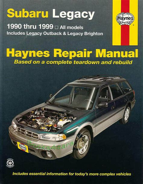 2001 subaru legacy and outback repair shop manual set original shop manual service repair legacy subaru outback haynes book gt chilton workshop ebay