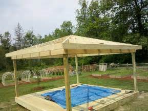 Picture Of Homemade Gazebo by How To Build A Hip Roof Gazebo 2017 2018 Best Cars Reviews
