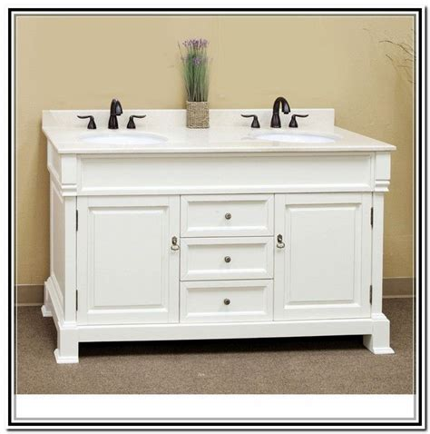 48 inch sink vanity white bathrooms