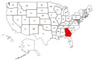 us map states atlanta maps and data myonlinemaps ga maps state