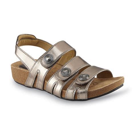 i love comfort sandals i love comfort women s antonia pewter slingback sandal