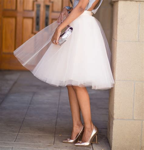 Colors That Go With Black And White by Top 10 Fashion Blogger Tulle Skirts Cocorosa