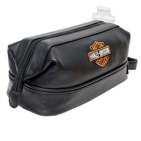 Harley Davidson Bag 99609 harley davidson 174 leather toiletry travel bag