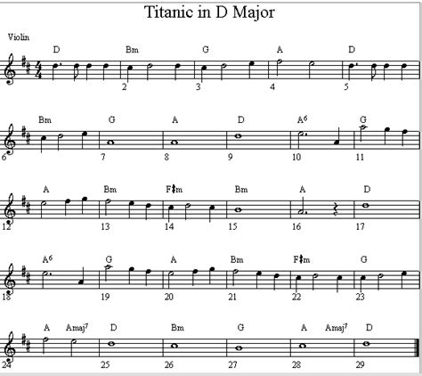 theme music of titanic free download titanic violin sheet music beginner titanic theme