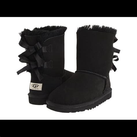 ugg boots for black ugg on hold bailey bow ugg boots black uggs from