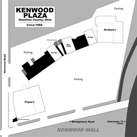 layout of kenwood mall mall hall of fame