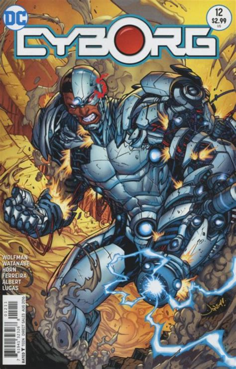 Comic Book 12 cyborg 1 dc comics comicbookrealm