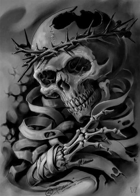 pin  michael murray  skully skull skull tattoos