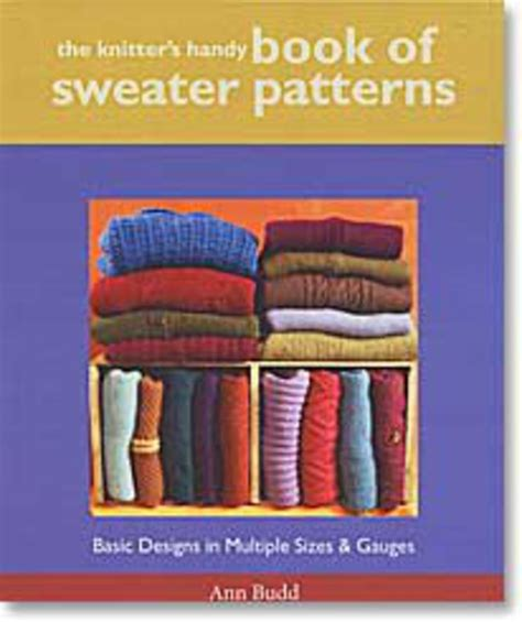 patterns for children knitting books halcyon yarn the knitter s handy book of sweater patterns knitting