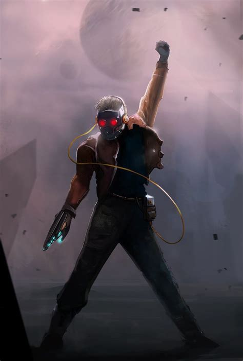 wallpaper galaxy marvel guardians of the galaxy star lord wallpapers wallpaper cave