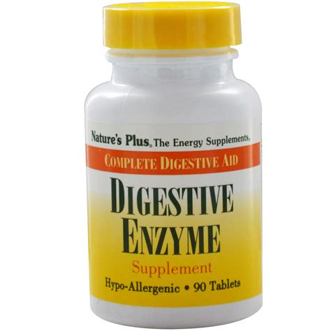 digestive enzymes nature s plus digestive enzyme supplement 90 tablets iherb